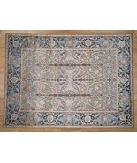 9'x12' HandKnotted Textured Silk With Oxidized Wool Kashen Influence Rug... - $3,671.64