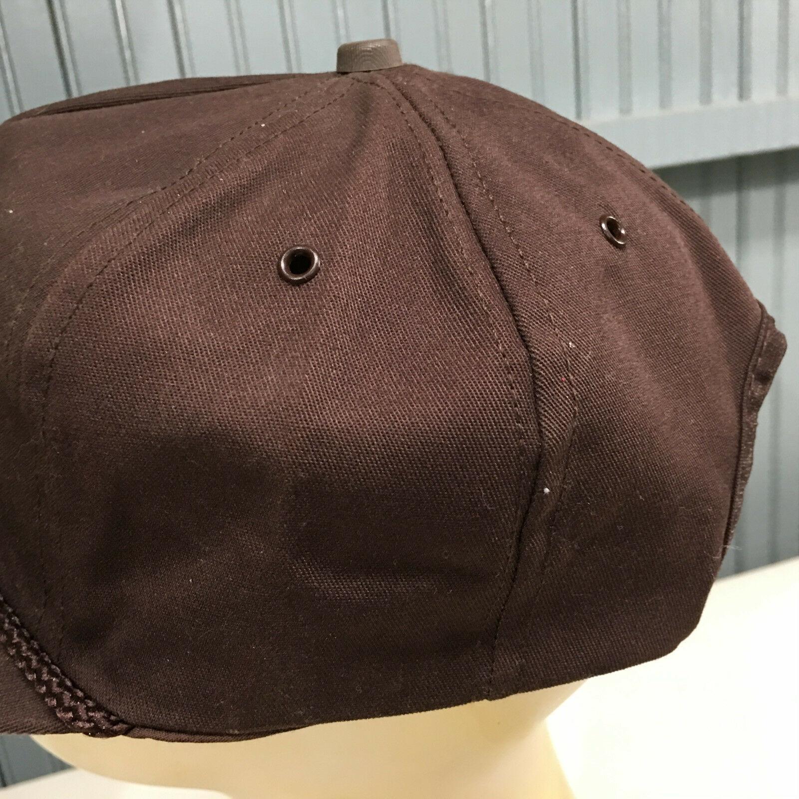 VTG U-Haul Moving Storage Patched Made in USA Snapback Baseball Cap Hat image 3