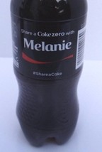 Share A Coke With Melanie 2015 Limited Edition Coke Zero Bottle New Unop... - $14.03