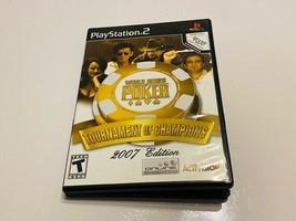 Sony PlayStation 2 / PS2 - World Series Poker - $10.00