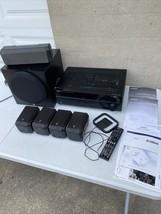 Yamaha Natural Sound A/V Receiver HTR 3063 With All Speakers & SubWoofer... - $371.25