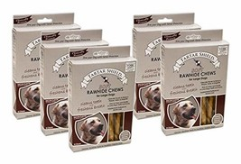 Tartar Shield Soft Rawhide Chews Large Dogs 8 Count - Clinically Proven ... - $99.73