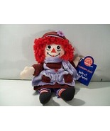 RAGGEDY ANN FEBRUARY DOLL OF THE MONTH RAGDOLL PLUSH APPLAUSE, WITH TAG ... - $15.63