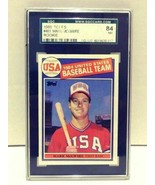 1985 Topps Mark McGwire Rookie 1984 USA Baseball Team SGC 84 NM  - $29.99