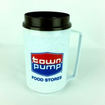 Town Pump Food Stores Thermal Insulated Coffee Travel Mug Aladdin Tea Cup 12 oz. - $39.99