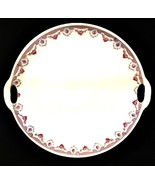 KAHLA Round Platter Tray Made in Germany Porcelain Delicate Rose Pattern - $34.64
