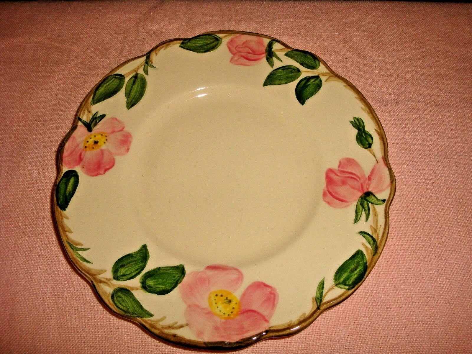 Franciscan Desert Rose 4  Bread & Butter Plates 1960s TV Backstamp USA