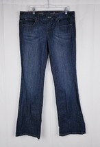 Tommy Hilfiger Women's Classic Boot Cut Blue Wash Sz 12  Stretch - $15.16