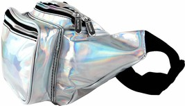 SoJourner Holographic Rave Fanny Pack - Packs Waist Bag for festival wom... - $13.82+