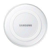 Samsung Wireless Charging Pad w/ 2A Wall Charger White Pearl USA Retail ... - $29.99
