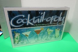 Cocktail Opoly Property Trading Board Game W/Some Tasty Twists New Sealed - $25.00