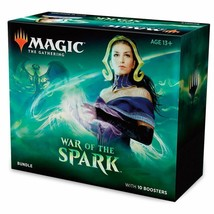 Magic: The Gathering War Of The Spark Bundle | 10 Booster Packs | Accessories |  - $55.15