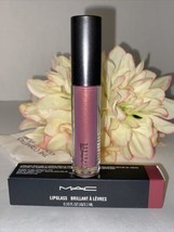MAC Lip Glass LOVE CHILD Gloss Lipglass Color Full Size NIB Authentic Fa... - $17.77