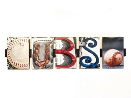 Cubs Picture Photo Letter Word Art Sign Baseball Glove Home Deco Gift Present - $49.99