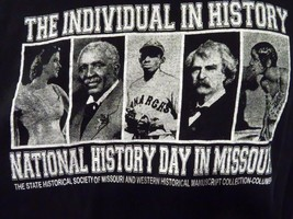 The Individual in HISTORY National History Day In Missouri T-Shirt Size XL - $8.90