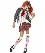 High School Horror Zombie Schoolgirl Costume, 4-6,Halloween Fancy Dress - $44.30