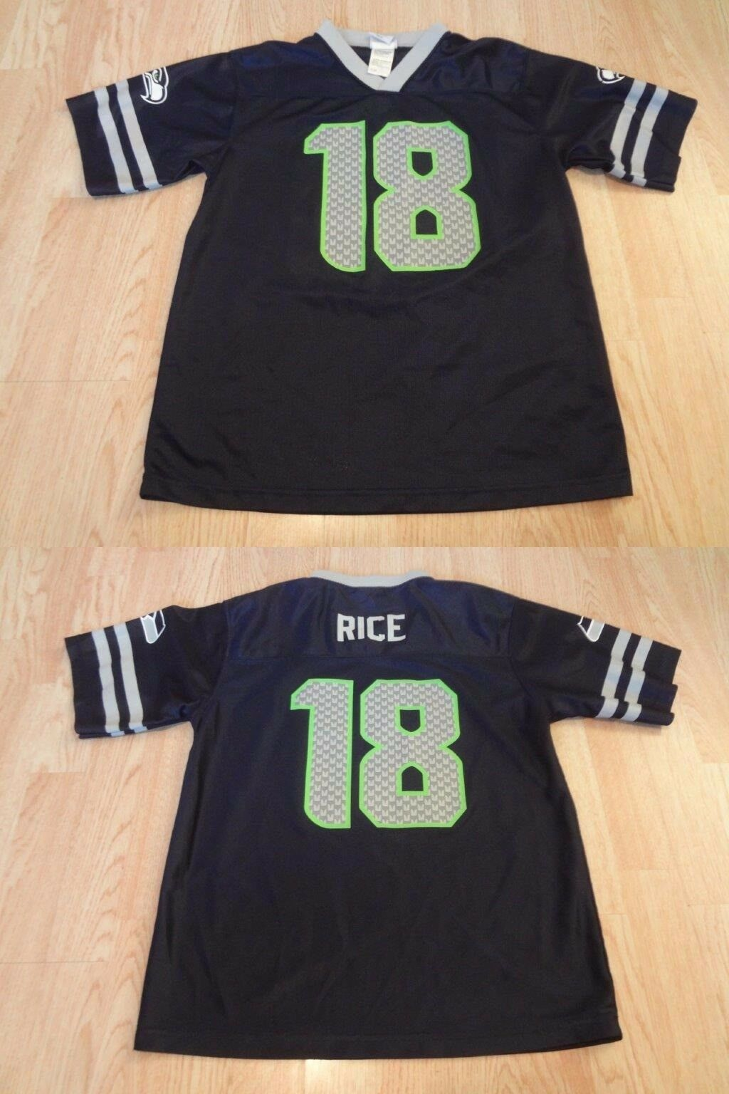Primary image for Youth Seattle Seahawks Sidney Rice XL (14/16) Jersey NFL Team Apparel Jersey