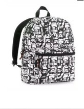 Star Wars Stormtroopers All Over Print Sublimated Backpack Book Bag Biow... - $26.17
