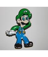 Super Mario Bros. Video Game Luigi Figure Metal Enamel Pin NEW UNUSED - $5.94