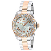 Invicta Angel Women's 40mm Stainless Steel Rose Gold Watch NWT - $118.79