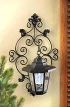 14256 SHIPS FREE Gallery of Light Solar Garden Wall Lantern - $28.57