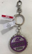 Disney Parks Exclusive UP Grape Soda Bottle Opener / Keychain New - $14.07