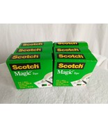 "3M Scotch Magic Invisible Tape, 810, 3/4"" x 800"" Photo Safe, Matte Finis... - $13.86"