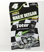 2020 HAILIE DEEGAN #4 TOTER NASCAR AUTHENTICS 1:64 W/TEAM MAGNET CARD  - $9.85