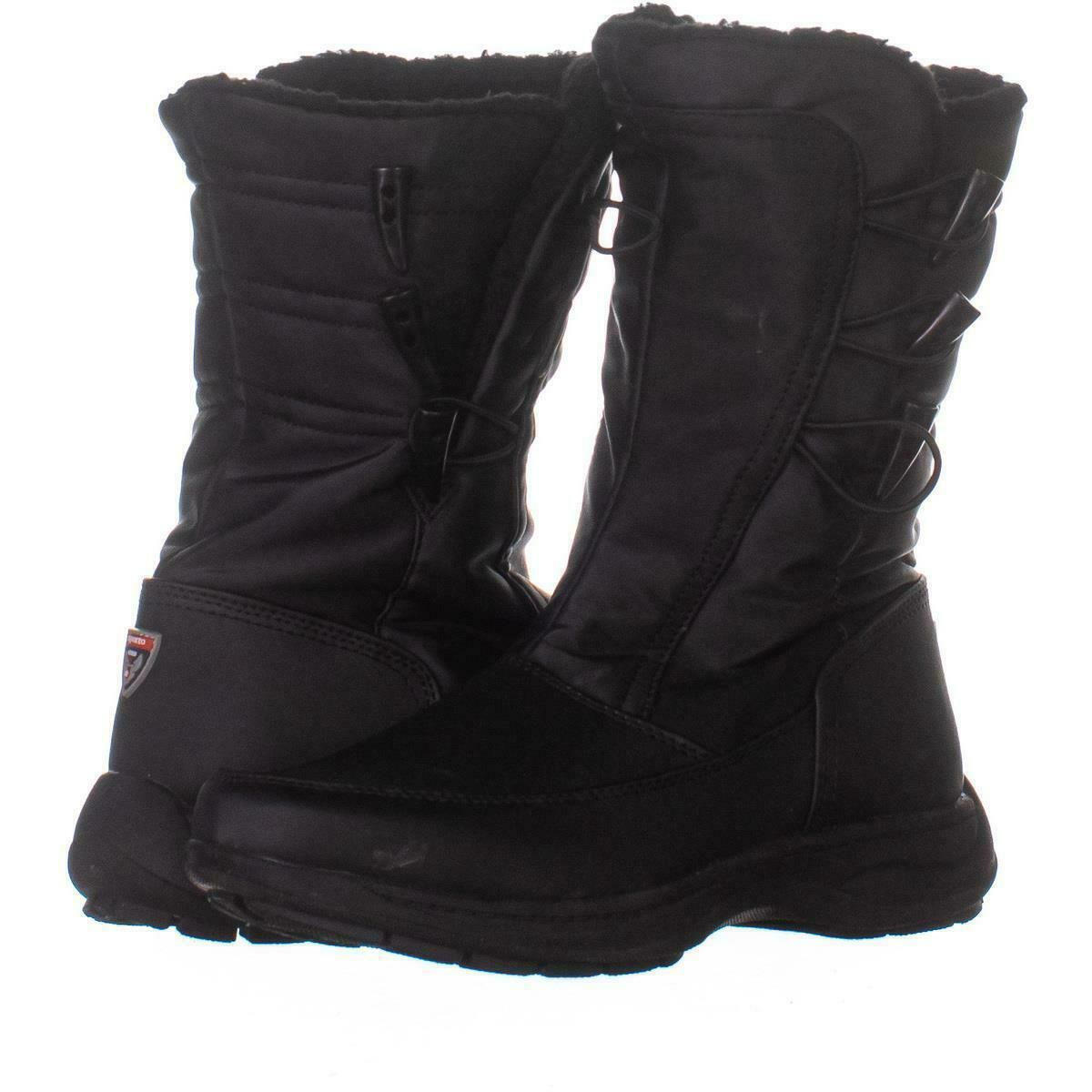 Primary image for Sporto Dana Mid Calf Winter Boots 984, Black, 9 US