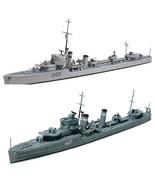 2 Tamiya Ship Models - Australian Naval Destroyer Vampire and O Class De... - $29.69