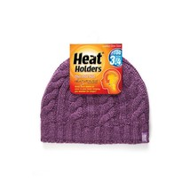 Heat Holders Ladies Hat One Size - Purple - $28.90
