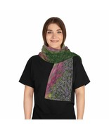 Among the Flower Fields Scarf - Original Pattern - Unique Artisan Design - $32.00