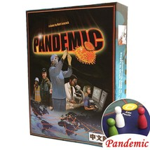 Pandemic Board Game Paper Cards Strategic Reasoning Plague Funny Party i... - $47.06