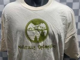 Naturellement Optimiste Nature Extérieur Randonnée T-Shirt Taille 2XL Neuf - $8.15