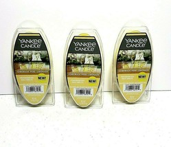 NEW 3xYankee Candle Homemade Herb Lemonade Fragranced Wax Melts Lot of 3 - $26.13