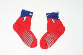 New Nike Large NBA Team Issued Detroit Pistons Basketball Ankle Socks Re... - $24.70