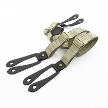 Suspender Straps Retro Braces Flax Fashion European Style Casual Flexibl... - $16.92