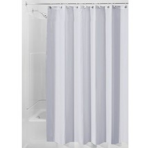 InterDesign Mildew-Free Water-Repellent Fabric Shower Curtain, 72-Inch b... - $18.63