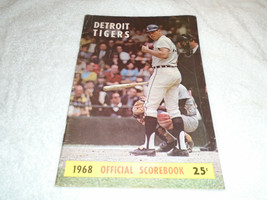 Official 1968 Detroit Tigers Score Book vs Chicago White Sox Tiger Stadium - $9.89