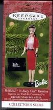 Barbie in Busy Gal Fashion Set of 2 Ornaments 2001 Hallmark Keepsake Orn... - $7.92