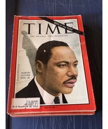 Magazine  Time MAN OF THE YEAR Martin Luther King Jr January 3 1964 - $69.29