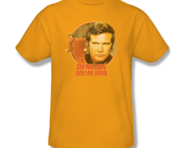 The Six Million Dollar Man Colonel Steve Austin Retro 70's graphic tee NBC526 image 3