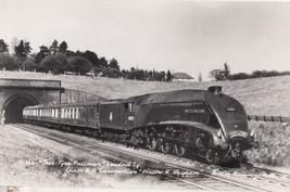 Tees Tyne Pullman Walter Wigham Class A Locomotive RPC Train Postcard - $13.99