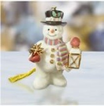 Lenox China 2006 Starlight Snowman New in Box - $74.00
