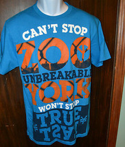 Zoo York  Men's  T -Shirt  Size   M Blue Cant Stop  NWT - $13.59