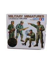 Tamiya 1/35 Military Miniature Series No.4 US Tank Crew Japan 1970 - $48.99