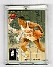 Isiah Thomas 1992-93 Fleer Ultra Playmaker Card Detroit Pistons #10 - $17.33