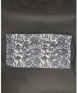 10 pieces White blk Faux lace disposable face mask - $11.00
