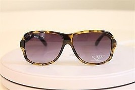 Original New Guess GU GU6631 To-35 Tortoise Frame Purple Lens Sunglasses 60 - $69.29