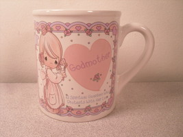 Godmother Enesco Precious Moments Coffee Cup Mug 1994 - $7.91